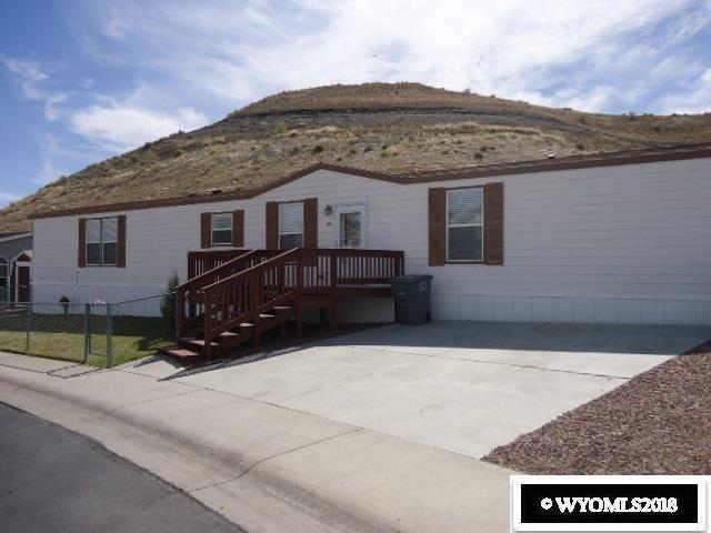 1700 Donnalyn Drive #24 Drive, Rock Springs, WY 82901 (MLS #20182523) :: RE/MAX The Group