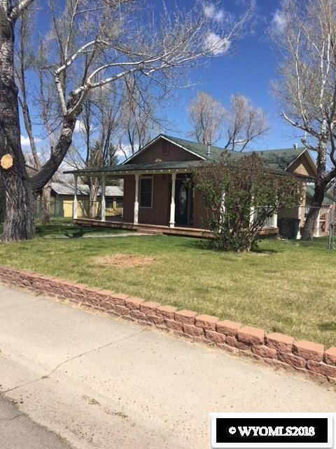 722 S 3rd, Glenrock, WY 82637 (MLS #20182596) :: Lisa Burridge & Associates Real Estate