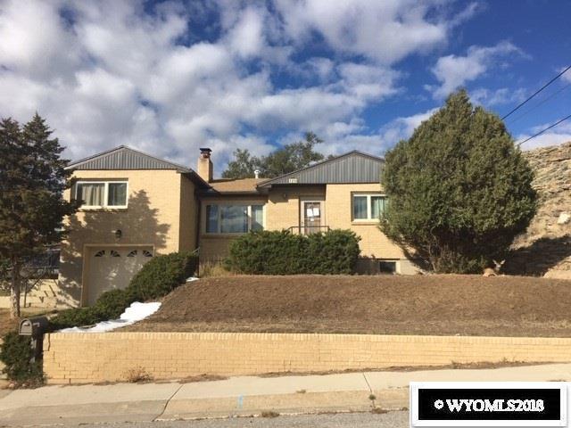1210 Mountain View Boulevard, Rawlins, WY 82301 (MLS #20186106) :: Lisa Burridge & Associates Real Estate