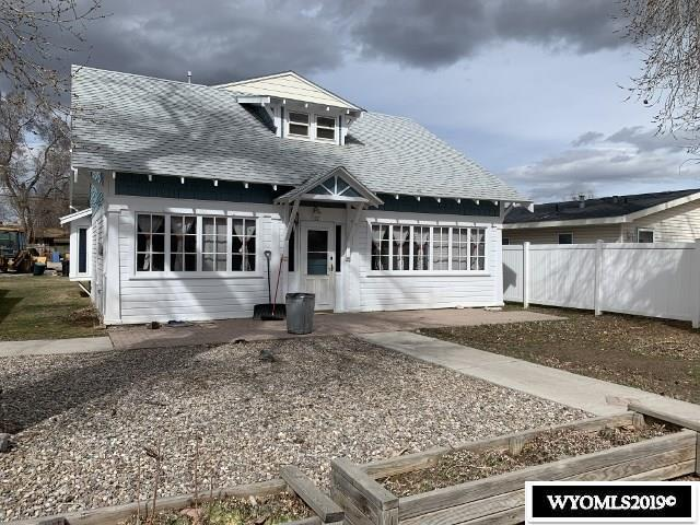 832 Lincoln, Lander, WY 82520 (MLS #20191852) :: Lisa Burridge & Associates Real Estate