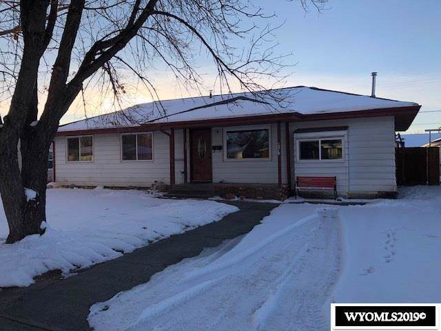 419 W Lane, Worland, WY 82401 (MLS #20196752) :: RE/MAX The Group