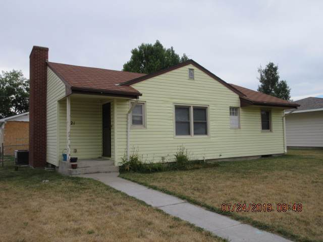 421 S 16th, Worland, WY 82401 (MLS #20200086) :: Real Estate Leaders