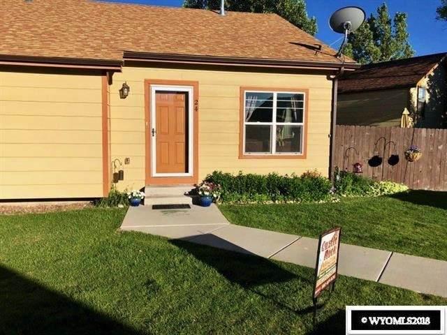 700 Shoshone  #24, Green River, WY 82935 (MLS #20201578) :: Lisa Burridge & Associates Real Estate