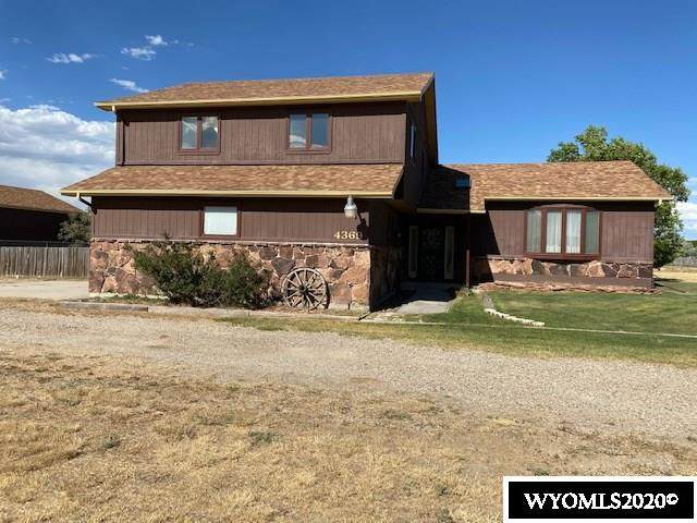 4369 Shetland Road, Casper, WY 82604 (MLS #20203669) :: Real Estate Leaders