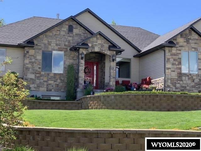 1509 Canyon Rd, Kemmerer, WY 83101 (MLS #20203761) :: Real Estate Leaders