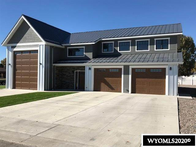 603 N Road 11, Worland, WY 82401 (MLS #20204176) :: Real Estate Leaders
