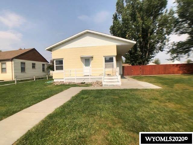 1417 Culbertson, Worland, WY 82401 (MLS #20205428) :: Lisa Burridge & Associates Real Estate