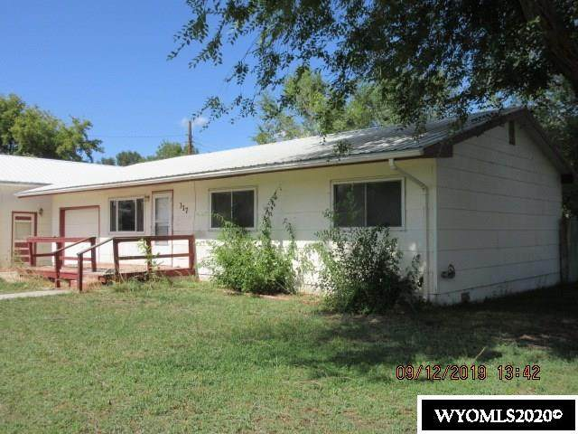 317 Thomas Avenue, Worland, WY 82401 (MLS #20205873) :: Lisa Burridge & Associates Real Estate