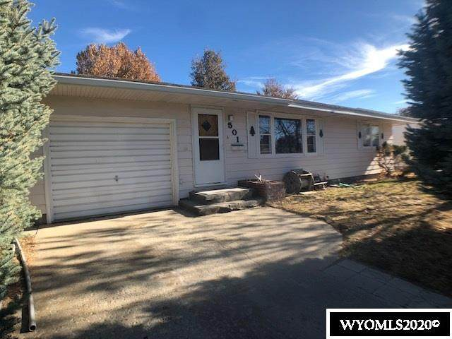 501 S 16th, Worland, WY 82401 (MLS #20206232) :: Real Estate Leaders