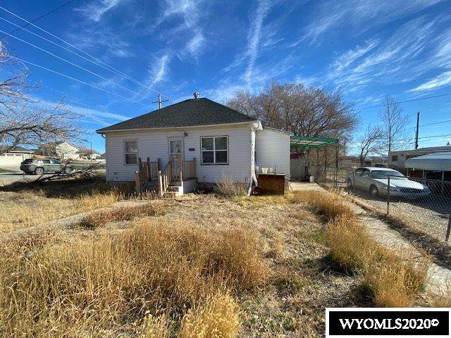 1121 Rodeo Street, Rawlins, WY 82301 (MLS #20206395) :: Lisa Burridge & Associates Real Estate