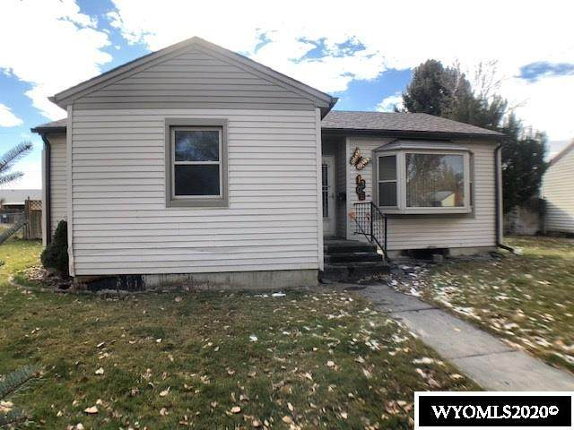 1306 Crest Way, Worland, WY 82401 (MLS #20206403) :: Real Estate Leaders