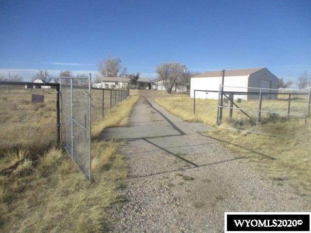 93 N Monkey Rd., Glenrock, WY 82636 (MLS #20206548) :: Lisa Burridge & Associates Real Estate