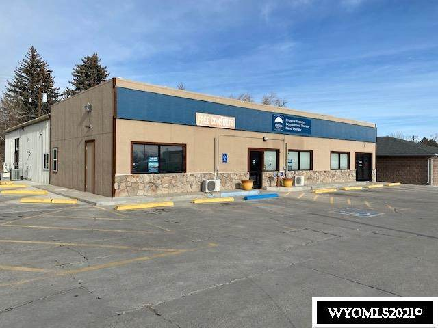 820 W Main, Riverton, WY 82501 (MLS #20210147) :: Lisa Burridge & Associates Real Estate