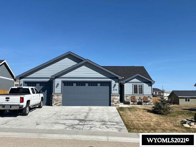 674 Melody Street, Buffalo, WY 82834 (MLS #20211528) :: Real Estate Leaders