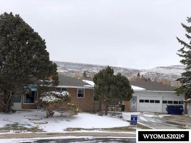 1240 W Jeffers, Rawlins, WY 82301 (MLS #20211790) :: Lisa Burridge & Associates Real Estate