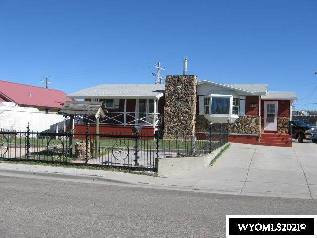 475 Logan Street, Green River, WY 82935 (MLS #20212152) :: Lisa Burridge & Associates Real Estate