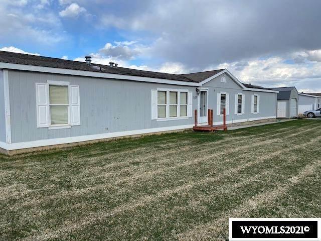 520 Grass Valley, Evanston, WY 82930 (MLS #20212280) :: Real Estate Leaders