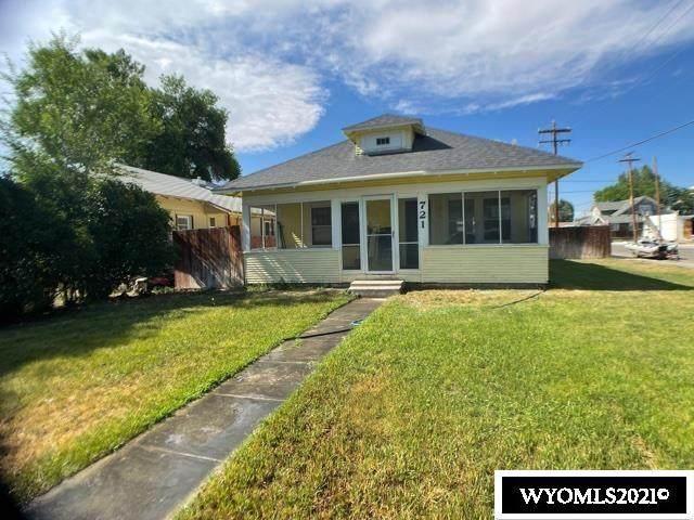 721 Grace, Worland, WY 82401 (MLS #20214004) :: Lisa Burridge & Associates Real Estate