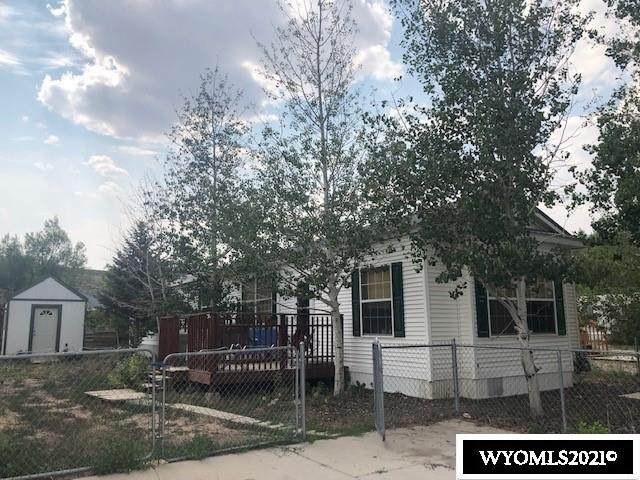 100 W Hillcrest, Diamondville, WY 83116 (MLS #20214058) :: RE/MAX The Group