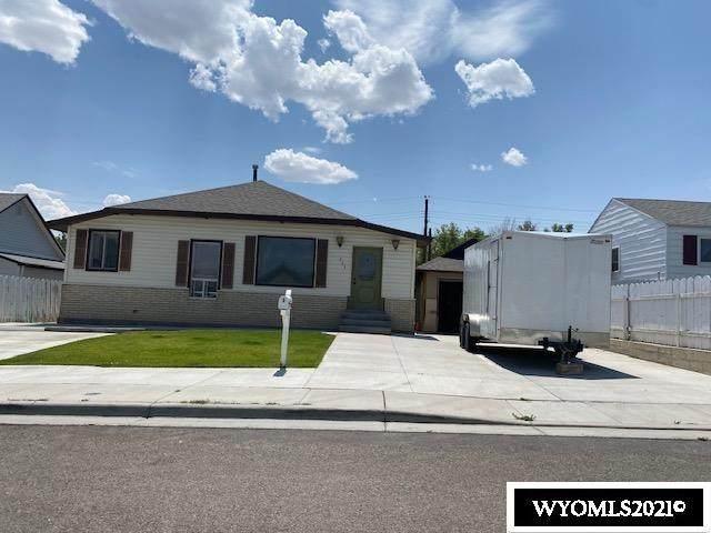 665 Jensen Street, Green River, WY 82935 (MLS #20214194) :: Lisa Burridge & Associates Real Estate