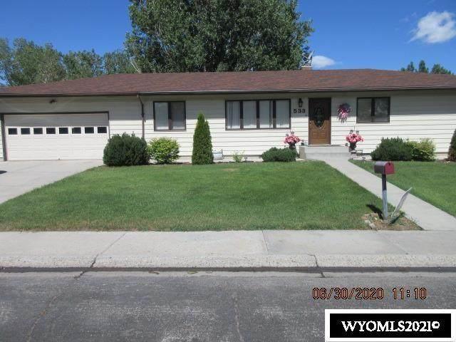 533 Sagebrush Drive, Worland, WY 82401 (MLS #20215074) :: Lisa Burridge & Associates Real Estate