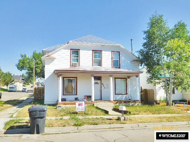 421 Sapphire St., Kemmerer, WY 83101 (MLS #20170697) :: Lisa Burridge & Associates Real Estate
