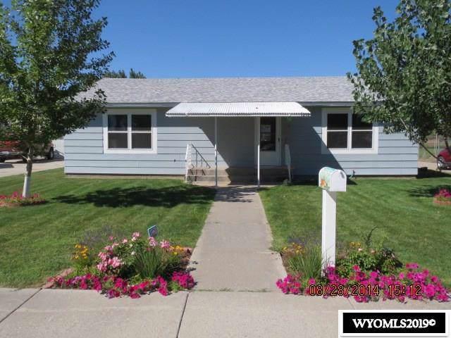 1219 Howell Avenue, Worland, WY 82401 (MLS #20191196) :: Lisa Burridge & Associates Real Estate