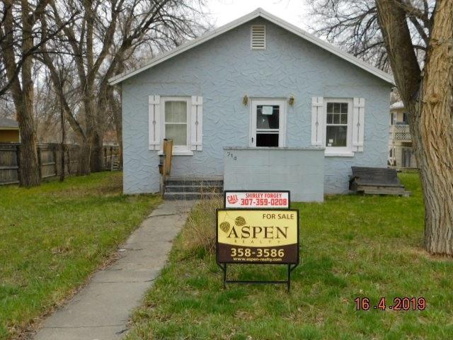 714 S 4th Street, Glenrock, WY 82637 (MLS #20191887) :: Lisa Burridge & Associates Real Estate
