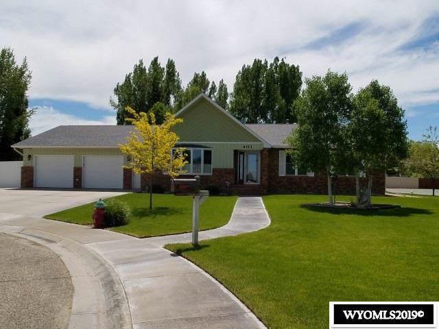 401 Meadowlark Lane, Worland, WY 82401 (MLS #20196355) :: Lisa Burridge & Associates Real Estate