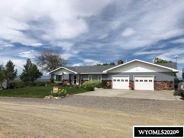 1240 Hilltop, Riverton, WY 82501 (MLS #20202744) :: RE/MAX The Group