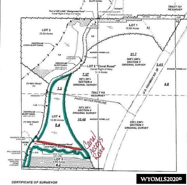 Lot 4 Dr, Worland, WY 82401 (MLS #20206045) :: Lisa Burridge & Associates Real Estate
