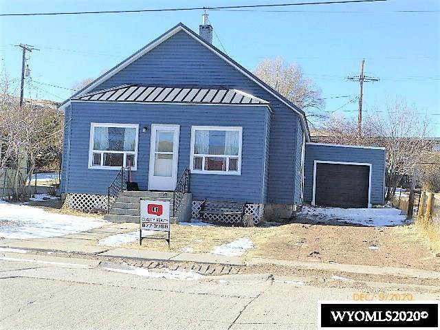 303 Paper Collar Row, Diamondville, WY 83116 (MLS #20206251) :: Real Estate Leaders