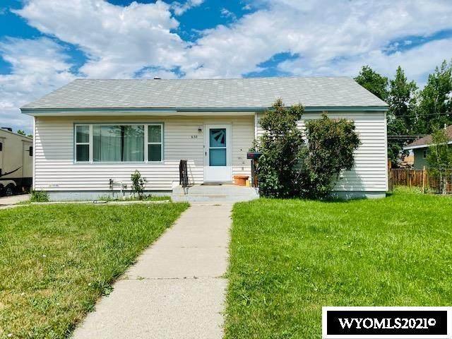 638 Cascade Street, Lander, WY 82520 (MLS #20214261) :: Lisa Burridge & Associates Real Estate