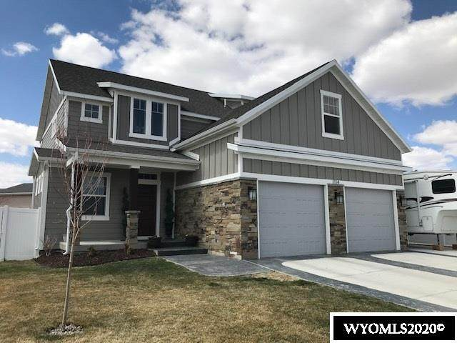 1114 Winchester Boulevard, Rock Springs, WY 82901 (MLS #20200558) :: Real Estate Leaders