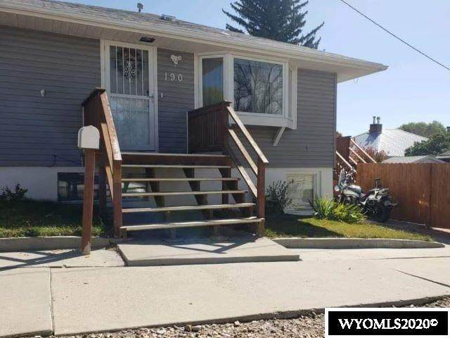190 N 6th West Street, Green River, WY 82935 (MLS #20205935) :: RE/MAX The Group