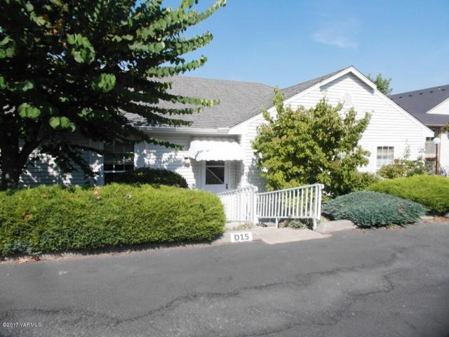 3701 Fairbanks Ave D-15, Yakima, WA 98902 (MLS #17-2393) :: Heritage Moultray Real Estate Services