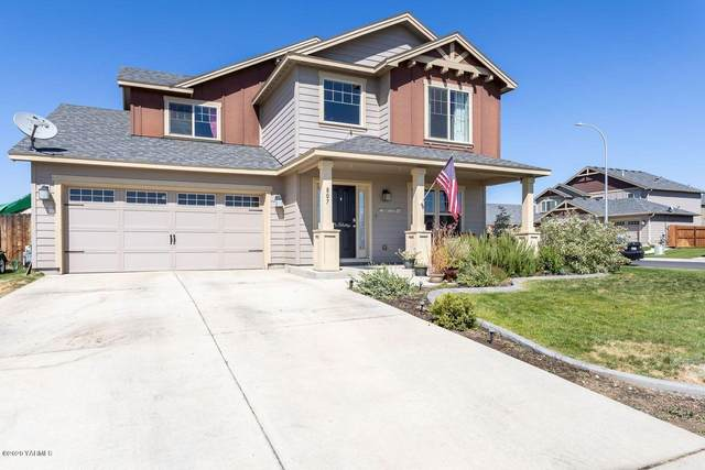 807 Summit Ave, Moxee, WA 98936 (MLS #20-1785) :: Heritage Moultray Real Estate Services