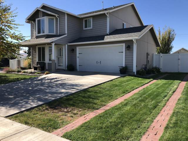 602 Mt Adams St, Moxee, WA 98936 (MLS #20-2267) :: Heritage Moultray Real Estate Services