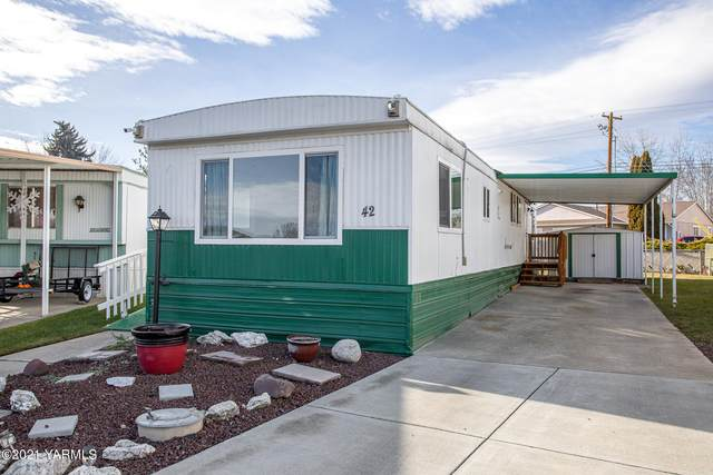 903 N 34th Ave #42, Yakima, WA 98902 (MLS #21-144) :: Heritage Moultray Real Estate Services