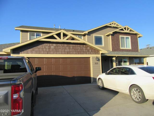 205 Clemans Ave, Moxee, WA 98936 (MLS #21-280) :: Heritage Moultray Real Estate Services