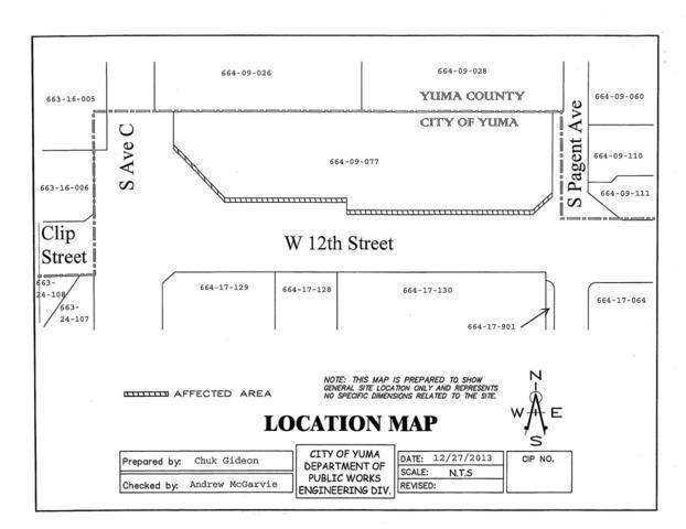 3950 W 12 ST, Yuma, AZ 85364 (MLS #135739) :: Group 46:10 Yuma